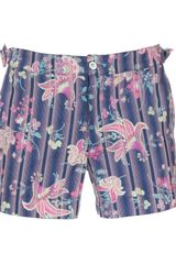 Paul & Joe Floral Short - Lyst