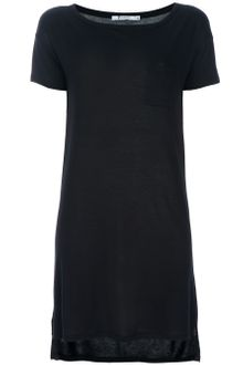 T By Alexander Wang Boat Neck Dress - Lyst