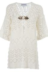 Emilio Pucci Crochet Knit Dress