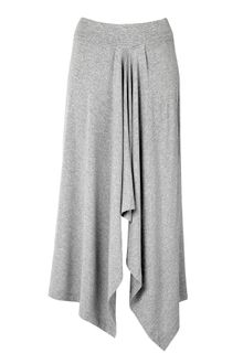 Michael by Michael Kors Delight Knit Drape Front Skirt - Lyst
