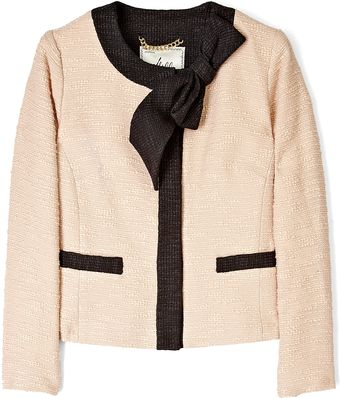Milly Betina Bow Jacket - Lyst