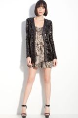 Rachel Zoe Bailey Sequin Cardigan - Lyst