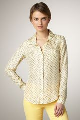 Textile Elizabeth And James Austin Printed Blouse - Lyst