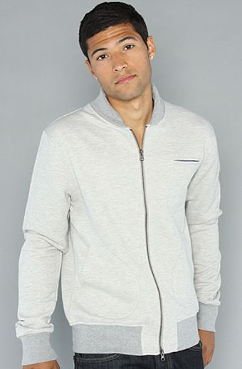 The Scifen Company The Paralell Zip Up in Heather - Lyst