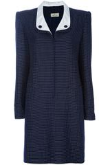 Valentino Vintage Polka Dot Dress in Blue - Lyst