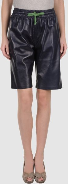 Celine Leather Trousers - Lyst