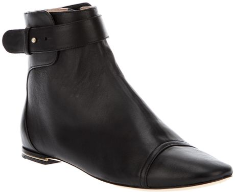 Chloé Ankle Boots in Black - Lyst