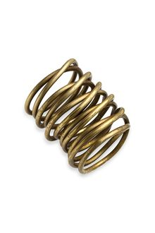 Kelly Wearstler Twisted Brass Ring - Lyst