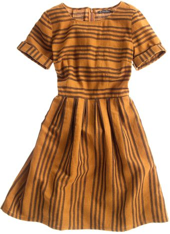 Madewell Stucco Stripe Songbird Dress - Lyst