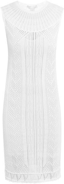 Antonio Berardi Cotton Knitted Dress - Lyst