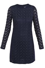 Diane Von Furstenberg Honoko Wave Lace Dress - Lyst