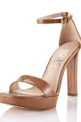 Kors By Michael Kors Patent Leather Platform Sandal - Lyst