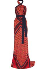 Vionnet Printed Stretch-silk Gown - Lyst