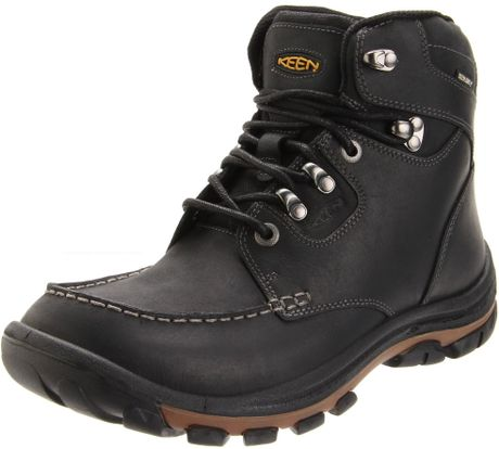 keen mens nopo waterproof boot in black for lyst