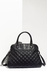 Marc Jacobs Quilting Whitney Lambskin Leather Satchel - Lyst