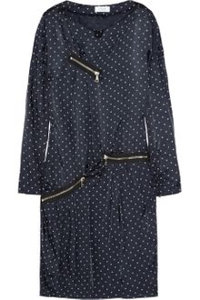Sonia By Sonia Rykiel Polka-dot twill dress - Lyst