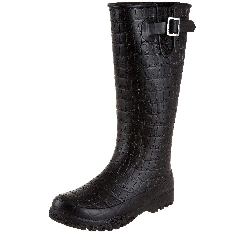sperry top sider womens pelican boot in black black