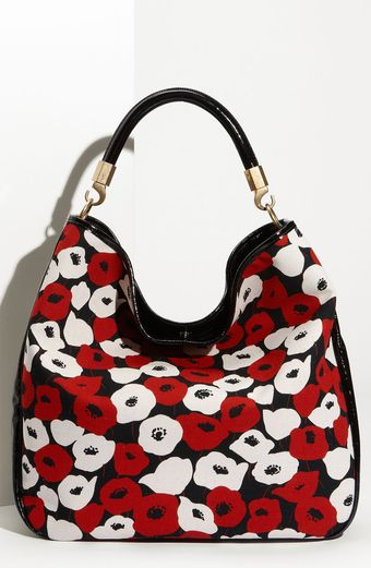 Yves Saint Laurent Roady Poppy Print - Large Hobo - Lyst