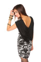 Nasty Gal Swirl Power Dress - Lyst