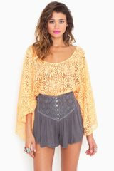 Nasty Gal Asteria Crochet Shorts - Lyst