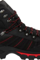Polo Ralph Lauren Mens Harker Hiking Boot in Black for Men (black/red) - Lyst