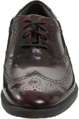 Rockport Mens Dressport Wingtip Oxford in Purple for Men (burgundy brush off) - Lyst