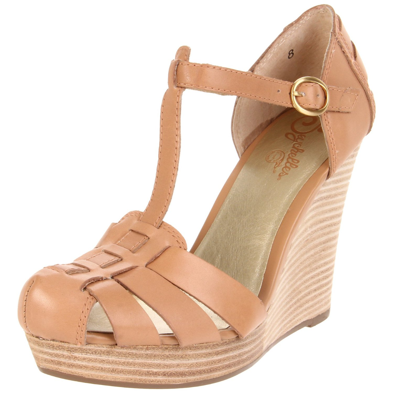 seychelles intentions t wedge in beige lyst