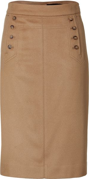 Marc By Marc Jacobs Wool/cashmere Blend Skirt - Lyst
