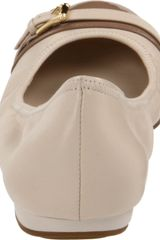 Cole Haan Air Reesa Ballet Flats in Beige (white pine/cove) - Lyst