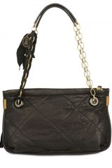 Lanvin Quilted Amalia Mm Shoulder Bag in Black - Lyst