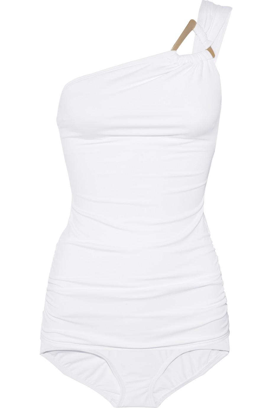 0a9d6c1c874 Michael Kors Untamed Asymmetric One-shoulder Tankini in White - Lyst