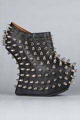 Jeffrey Campbell The Shadow Stud Bootie in Black in Black - Lyst