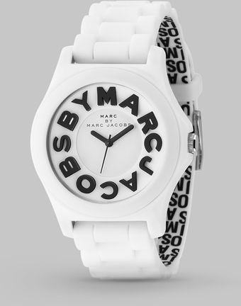 Marc By Marc Jacobs Sloane Logo Strap Watch - Lyst
