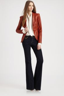 Rachel Zoe Sullivan Ii Leather Jacket - Lyst