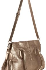 Cole Haan Village Eden Tote in Gold - Lyst