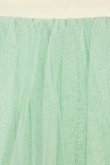 D&g Layered Tulle Midi Skirt in Green (mint) - Lyst