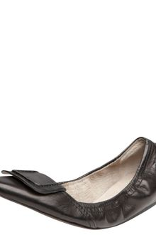Elizabeth And James Scrunchy Ballerina Flat - Lyst
