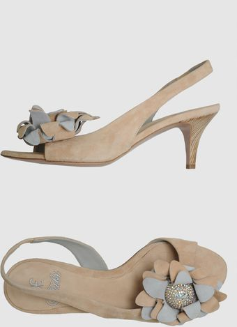 Fabi Highheeled Sandals - Lyst