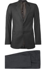 Givenchy Two Button Wool Suit - Lyst