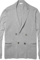 Jil Sander Double-breasted Wool Cardigan - Lyst