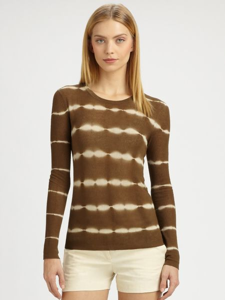 Michael Kors Tiedye Pullover In Green Olive Lyst