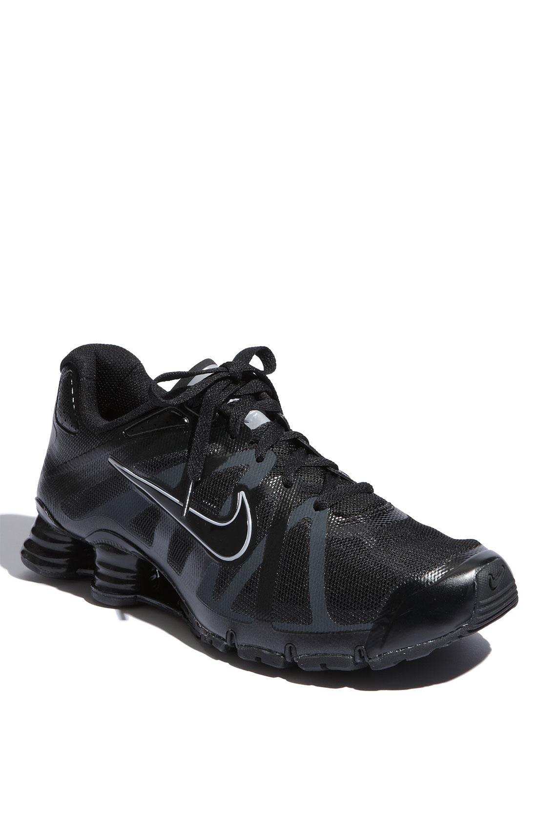 super popular afe3f 3e772 ... Nike Shox Roadster Trail Running Shoe in Black for Men Lyst ...