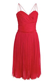 Sophie Theallet Silk-chiffon Grecian Dress - Lyst