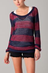 Splendid Salt Lake Striped Sweater - Lyst