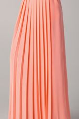 Tibi Maxi Pleated Skirt - Lyst