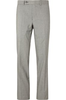 Yves Saint Laurent Houndstooth Woolblend Suit Trousers - Lyst