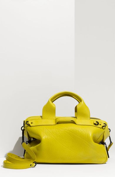3.1 Phillip Lim Lark - Small Duffle in Green (yellow)