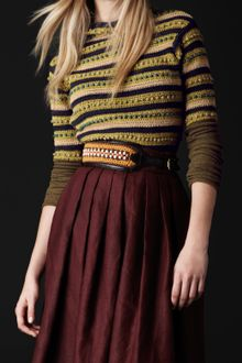 Burberry Prorsum Bead and Crochet Sweater - Lyst