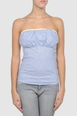 Elisabetta Franchi For Celyn B.  Tube Top in Blue (lilac) - Lyst