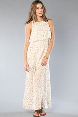 Free People The Flounce Maxi Dress - Lyst